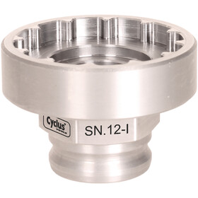 Cyclus Tools Snap.in SN.12-I Raceface Remover for Internal Bearing Shells BSA30, argento